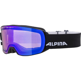 Alpina Alpina Nakiska QVM Goggles black matt